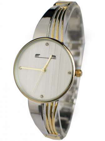 Ceas Dama Matteo Ferari Gold&Silver/White Elegant X [1]
