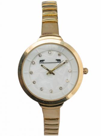 Ceas Dama Matteo Ferari Gold/White Elegant XI [0]