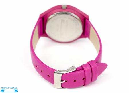 Ceas Dama Matteo Ferari Pink Casual XVI [2]