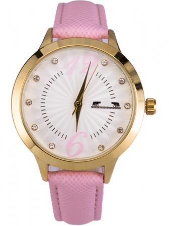 Ceas Dama Matteo Ferari Pink/Gold Casual XV [0]