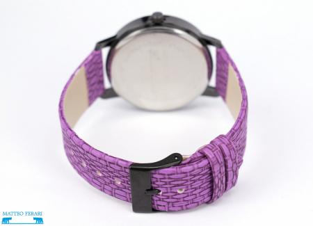 Ceas Dama Matteo Ferari Purple Casual IX [2]