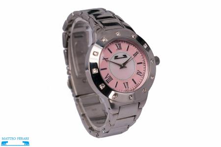 Ceas Dama Matteo Ferari Silver/Pink Elegant II [1]