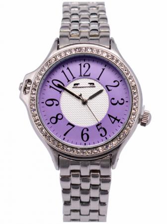 Ceas Dama Matteo Ferari Silver/Purple Clasic XI [0]