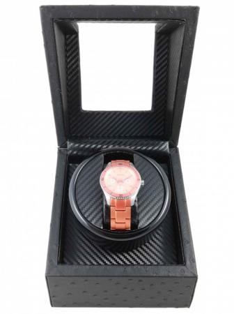 Watch Winder Dispozitiv incarcare ceasuri automatice 1 + 0 spatii WW10BBCFF [1]