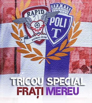 Banner tricou Frati mereu