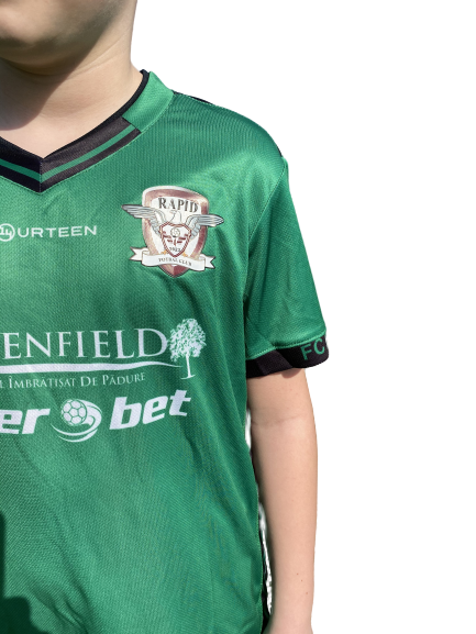 Echipament oficial pentru copii, 2018 Fourteen, Verde 1