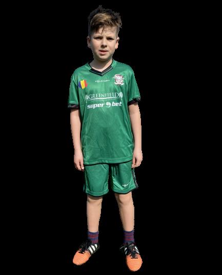 Echipament oficial pentru copii, 2018 Fourteen, Verde 0