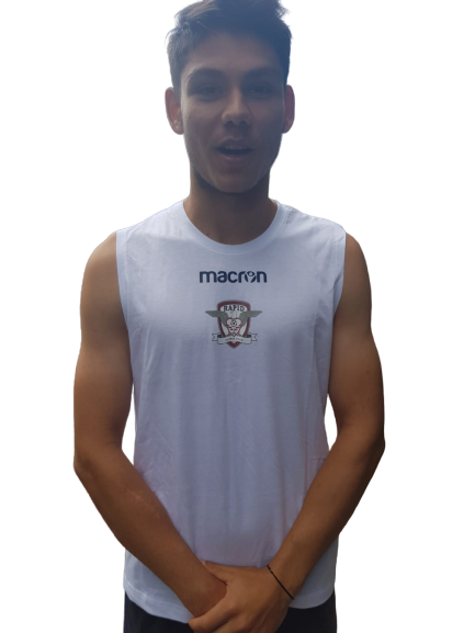 Maiou MACRON alb 1