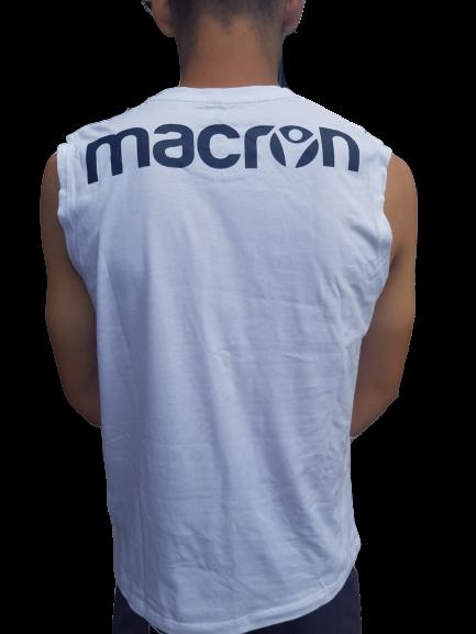 Maiou MACRON alb 2