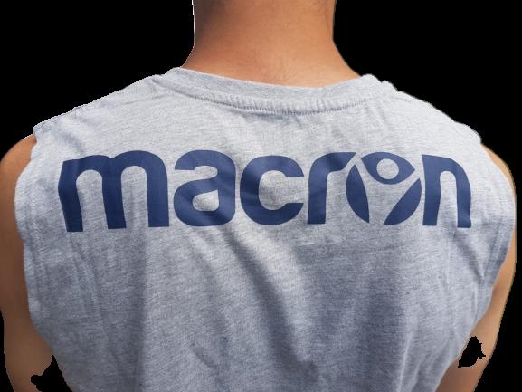 Maiou MACRON gri 2