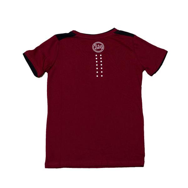 Tricou pentru copii, Fourteen, bumbac, visiniu 1