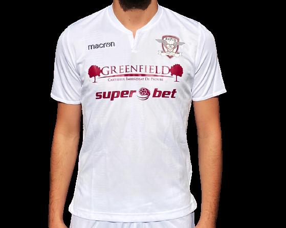 Tricou oficial alb sezonul 2020-2021 0