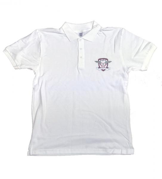 Tricou POLO RAPID, bumbac, alb 0