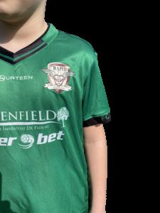 Echipament oficial pentru copii, 2018 Fourteen, Verde1