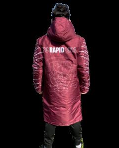 Geaca Rapid logo1