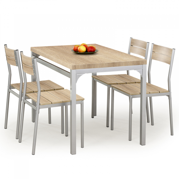 Set masa si 4 scaune MALCOLM SONOMA 0