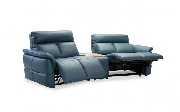 Canapea 2 locuri cu recliner si bar Oviedo 2