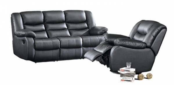 Canapea de 3 locuri Jadine cu 2 reclinere electrice si 2 sisteme de VibroMasaj 2