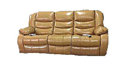 Canapea de 3 locuri Jadine cu 2 reclinere electrice si 2 sisteme de VibroMasaj 0