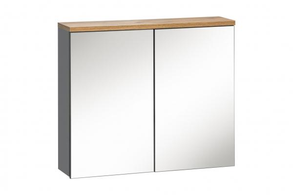 Corp suspendat cu oglinda Bora Grey 80 cm 0