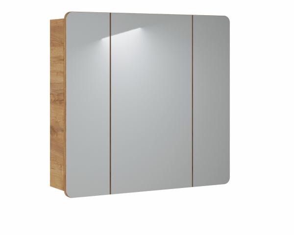 Corp suspendat cu oglinda Lucas 80 cm 0