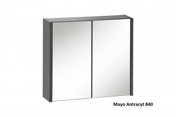 Corp suspendat cu oglinda Mayo Antracit 0