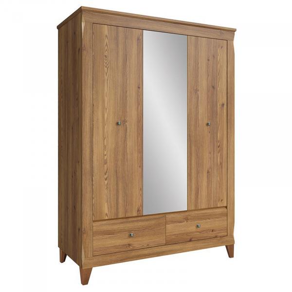 Dulap cu oglinda si 3 usi BERGEN 4