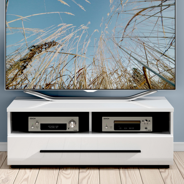 Comoda TV FEVER WHITE 1