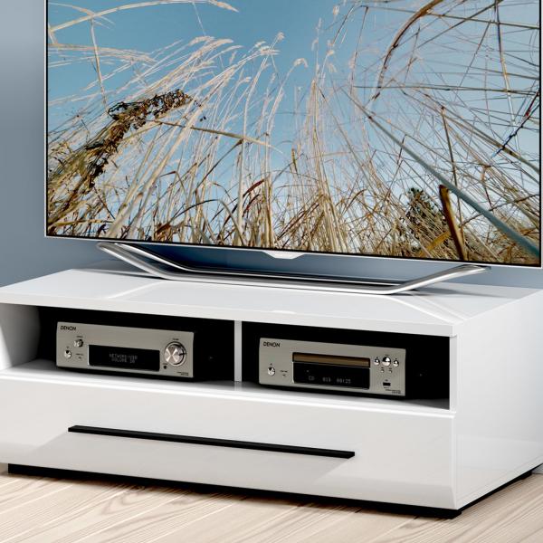 Comoda TV FEVER WHITE 2