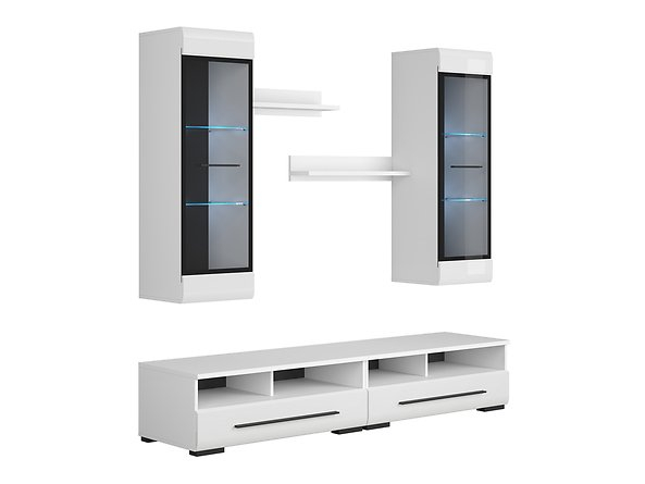 Mobilier FEVER WHITE Set living 5 piese 2