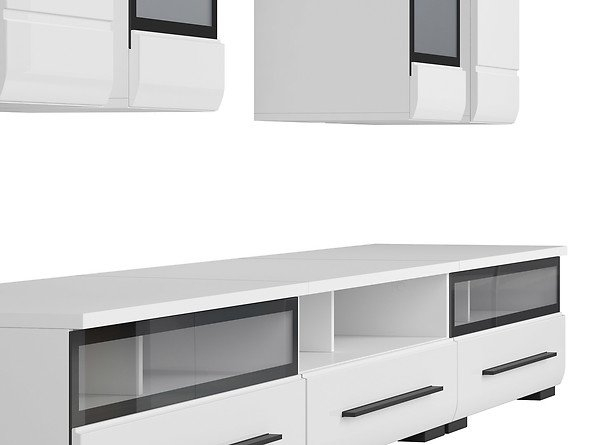 Mobilier FEVER WHITE Set living 8 piese 3