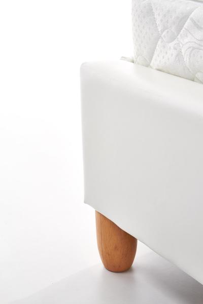 Pat tapitat din piele ecologica LAGUNA Pat tapitat din piele ecologica. Dimensiune saltea 160x200cm. 3