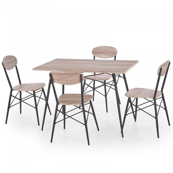 Set masa si 4 scaune KABIR 0