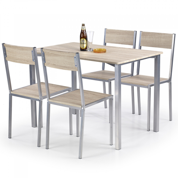 Set masa si 4 scaune RALPH 0