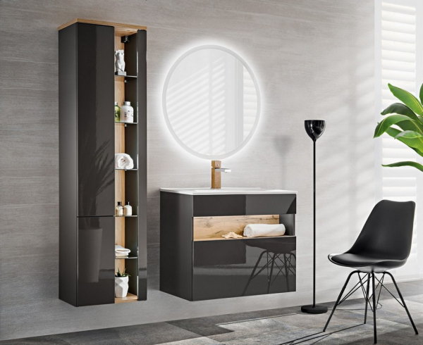 Set mobilier baie Bond Grey 60 cm [0]