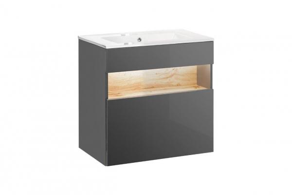 Set mobilier baie Bond Grey 60 cm [2]