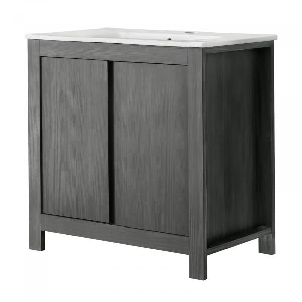 Set mobilier de baie Clasico Grey 2