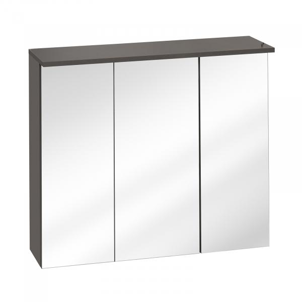 Corp suspendat cu oglinda Galatea Grey 80 cm 0