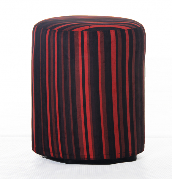 Taburet rotund Red Lines 0