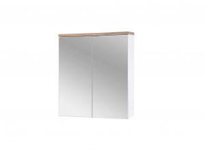 Corp suspendat cu oglinda Bora White 60 cm0