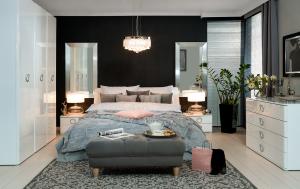 Dormitor modern ROKSANA II - Dulap SZF3D/22/182