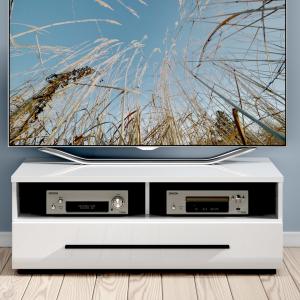 Comoda TV FEVER WHITE1