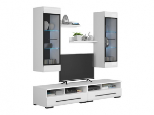 Mobilier FEVER WHITE Set living 5 piese6
