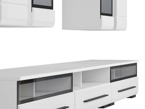 Mobilier FEVER WHITE Set living 8 piese [3]