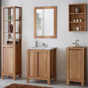 Oglinda Clasico Oak 60 cm1