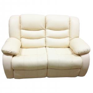 Set Canapea 2 locuri si un fotoliu cu recliner Jadine din piele0