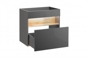 Set mobilier baie Bond Grey 60 cm [1]