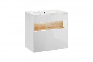 Set mobilier baie Bond White 60 cm2