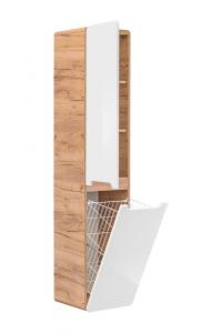 Set Mobilier Baie LUCAS 60 cm cu cos de rufe [1]
