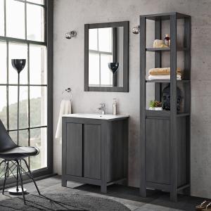 Set mobilier de baie Clasico Grey0
